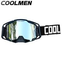 Gafas de Motocross MX todoterreno, cascos para bicicleta, gafas de deporte de esquí, gafas de seguridad cuesta abajo, accesorios para motocicleta