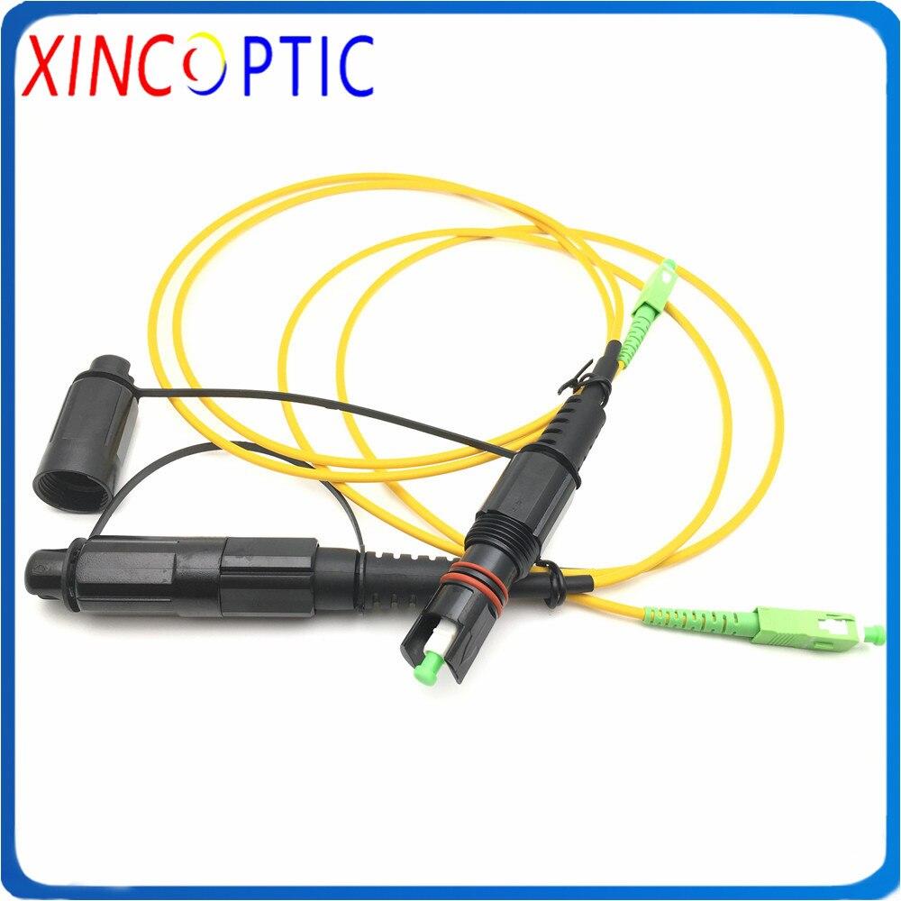 IP67 Водонепроницаемый Corning HUAWEI Mini SC/APC 1 м 3,0 мм желтый кабель для SC/APC OptiTap Перемычка оптоволоконный Разъем патч-корд
