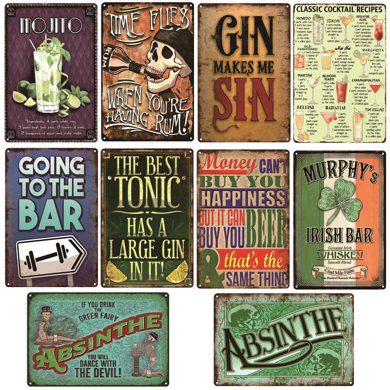 Keep Calm Wall Metal Tin Signs Decor Vintage Retro Home Club Pub Wall Plaques