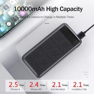 YKZ Power Bank 10000mAh Portable Charging PowerBank 10000 mAh USB PoverBank External Battery Charger For iPhone Xiaomi Mi