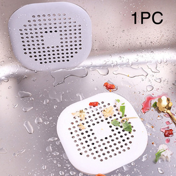 Kanalizacja łazienkowa filtr antypoślizgowy akcesoria prysznicowe pokrywa sitko silikonowe siatki odpływ domowy praktyczne blokowanie włosów zlewozmywak kuchenny tanie i dobre opinie Woopower Other