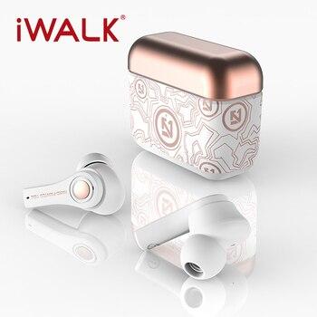 IWALK TWS Wireless Charging Earphones 20 Hours Case Bluetooth 5.0 Earphone 2020 NEW Microphones Sports Waterproof headset