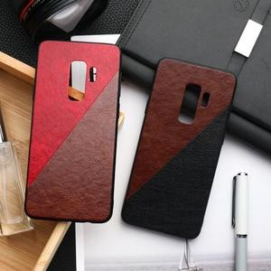 Image 2 - Frabic Case For Samsung A50 A40 A70 A10 A20 A30 A60 Case Silicone S10e S8 S9 Plus Note 8 9 A9 A7 2018 M10 M20 M30s Hard PC Cover