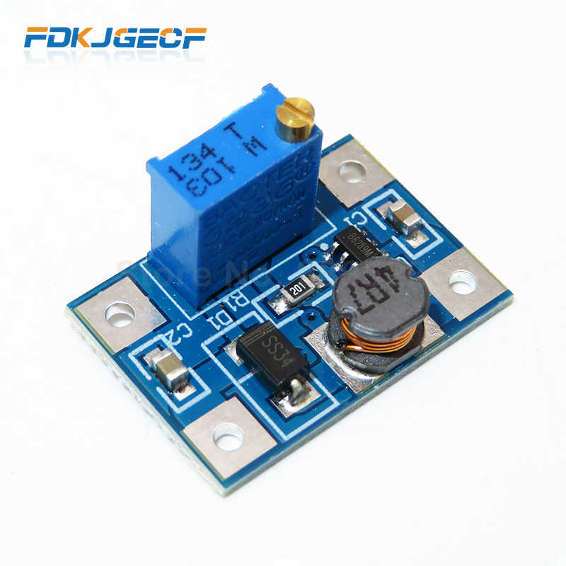 2-24V zu 2-28V 2A DC-DC SX1308 Step-UP Einstellbare Power Module Step Up boost Konverter für DIY Kit