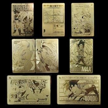 Figuras de acción de Dragon Ball Super, Ultra instinto, Goku Jiren, edición conmemorativa del 30 ° aniversario, tarjetas de juego de colección