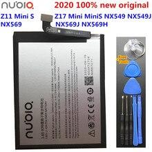 Batería Original de 3000mAh Li3929T44P6h796137 para ZTE Nubia Z11 Mini S Nubia Z17 Mini MiniS NX549 NX549J NX569 NX569J NX569H