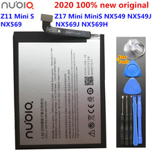 ZTE Nubia Z11 Mini S Nubia Z17 Mini MiniS NX549 NX549J NX569 NX569J NX569H 배터리 용 새 원본 3000mAh Li3929T44P6h796137