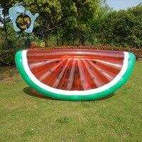 Inflatable Half Watermelon Pool Floats Summer Water Air Mattress Pool Fun Water Beach Toys Boia Piscina