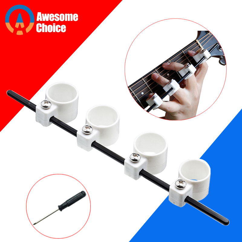 Adjustable Electric Acoustic Guitar Finger Expansion Sleeves Musical Instrument Accessories Finger Force Ukulele Practice
