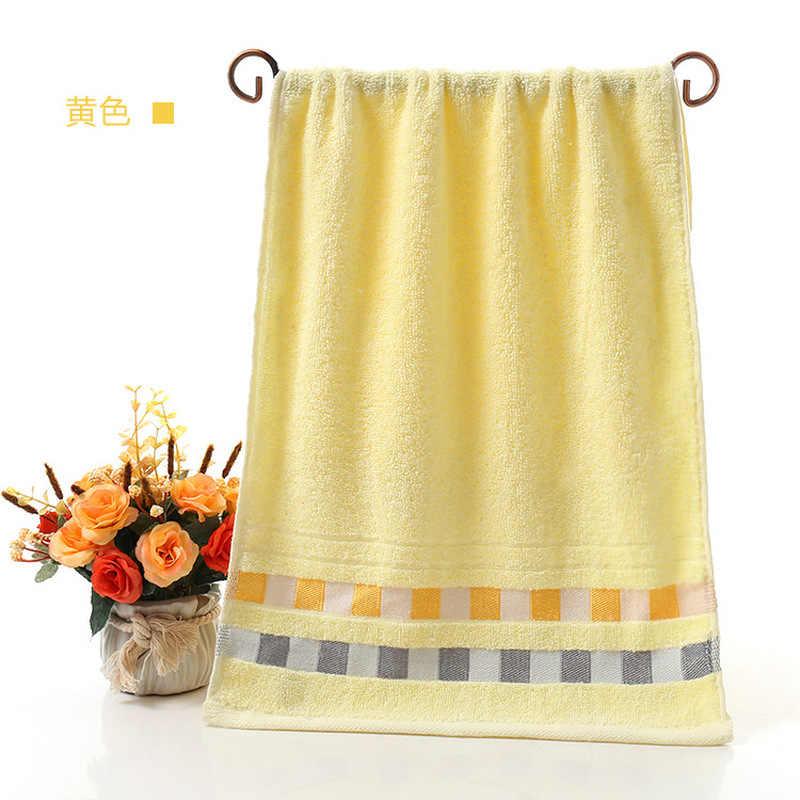 77X33 cm ręczniki kąpielowe 100% bawełniany ręcznik dostępny włókno bawełniane przyjazne dla środowiska naturalnego haftowany ręcznik kąpielowy
