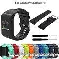 Силиконовый ремешок для смарт-часов Garmin vivoactive HR, браслет на запястье для vivoactive HR, сменный браслет, браслет, аксессуары