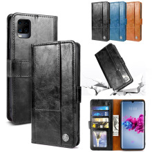 цена на For ZTE Axon 11 5G Case Vantage PU Leather and TPU Wallet Protective Cover For ZTE Axon 10 Pro ZTE Axon 10 Pro 5G Case Card Slot