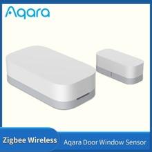 Aqara – capteur d'ouverture de porte/fenêtre, sans fil, Zigbee, pour maison connectée, compatible avec application Mi home Xiaomi mijia