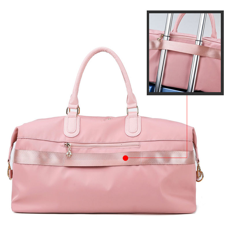 Women Fashion Travelling Bag Nylon Duffle Ladies Packing Cubes Travel Bags Suitcase Bag Carry On Luggage Organizer Bagsmart in Travel Bags from Luggage Bags