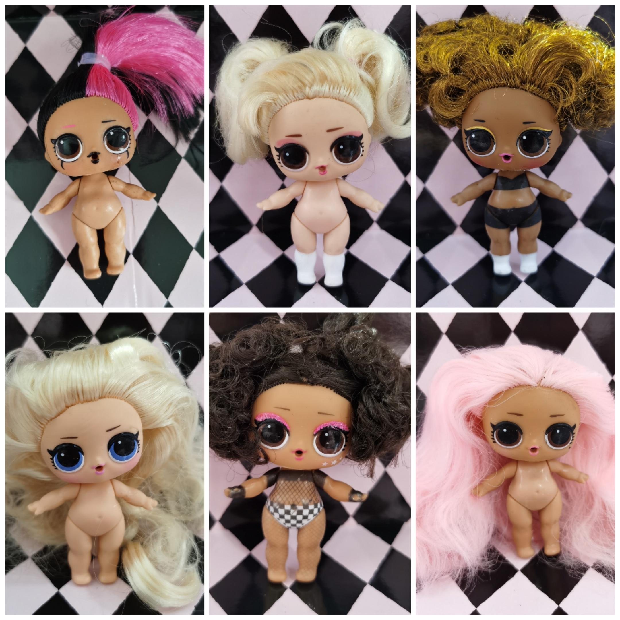 Оригинальные куклы LOL Surprise серии 5, парикмахерские куклы JK Sister, рождественские подарочные игрушки You