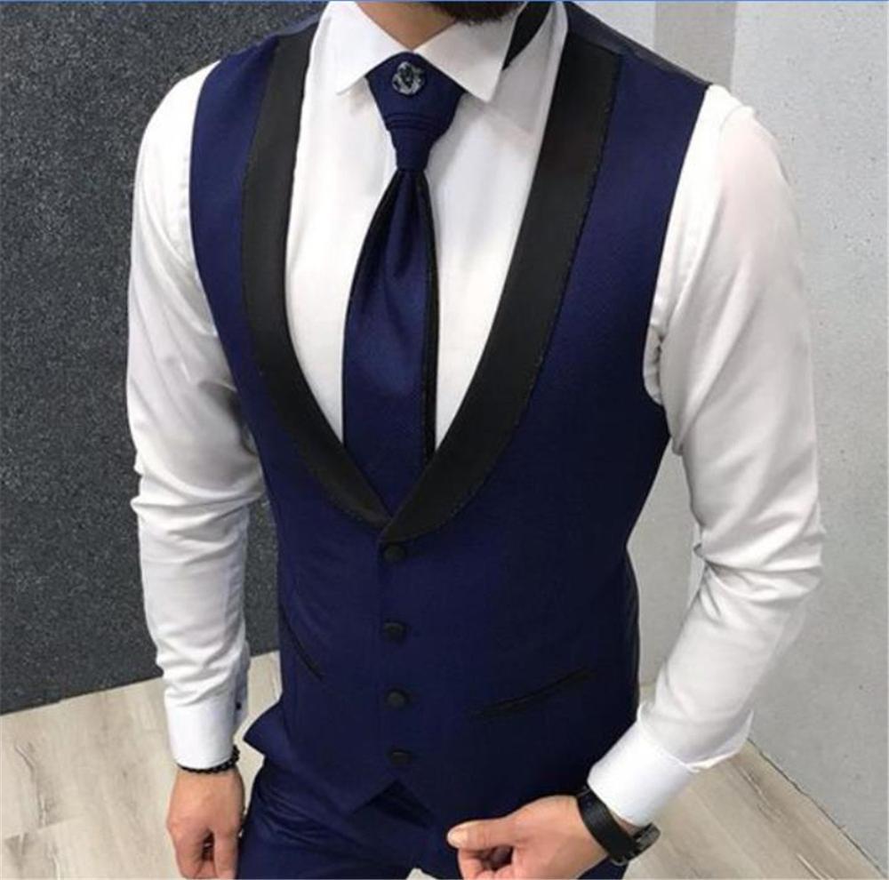 Vests-for-Wedding-Black-Lapel-Business-Suit-Vest-Royal-Blue-Mens-Vest-Italian-Formal-Party-Dress (1)