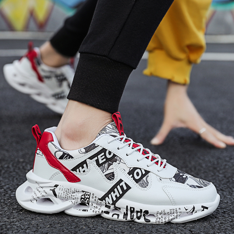 2020 New Ultralight Breathable Adult Comfortable Shoes Man Summer Comfortable Men Sneakers Adult Male Tennis Trainers Shoes