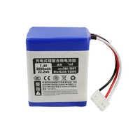 7.2 v 3000 mah li-ion bateria para irobot braava 380 380 t hortelã 5200 5200c bateria recarregável aspirador de pó acessórios