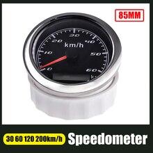 Одометр с красной подсветкой, 85 мм, 60 км/ч, 120 км/ч, 200 км/ч