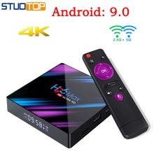 H96 MAX Smart Tv Box Android 9.0 Set Top Box 4K Mi ni Tv Box RK3318 4gb 32gb 64gb Quad Core media player PK X96 HK1 A95X MAX hk1 mini android 9 0 tv box 4gb 64gb rk3318 quad core 32gb smart tv box 2 4 5 0g wifi bt4 0 hdr 4k 3d media player