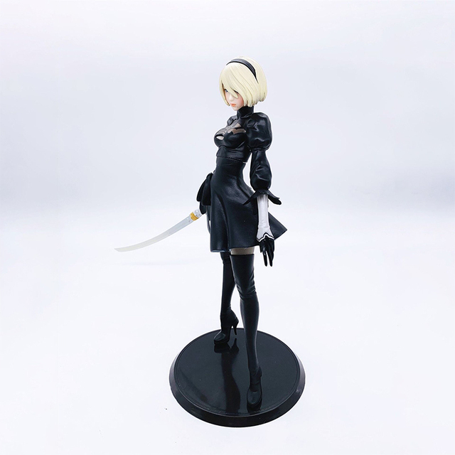Nier Automata 2B YoRHa No.2 Type B PVC Action Figure Anime Figure Model Toys Sexy Girl Figure Collection Doll Gift