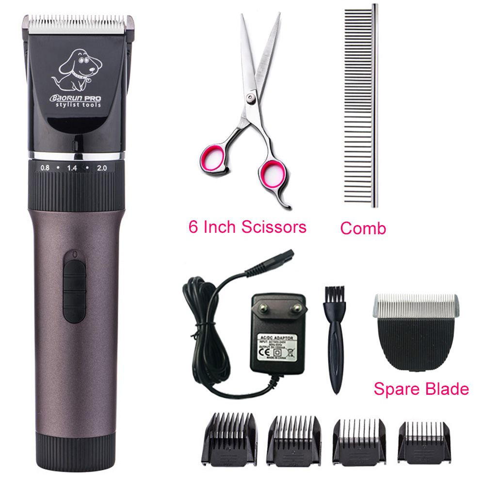 Beito Electric Pet Comb Grooming Comb Dog Cat Shaving Machine No Batteries Included