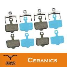 4 пары велосипедных керамических дисковых тормозных колодок