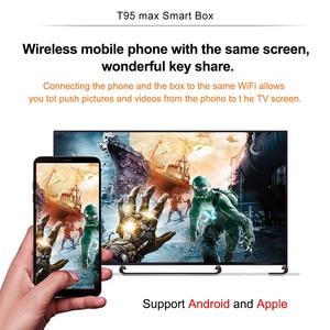 Image 4 - Allwinner H6 6K Smart TV Box Android 9,0 4GB RAM 64GB ROM QuadCore Play store Youtube Wifi set Top Box 2G16G Media Player Q Plus