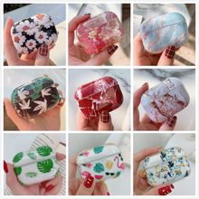 Earphone Case For Apple Airpods Pro Case Marble Cartoon Silicone Cover For Apple Air Pods Pro 3 Headphone Earpods Charging Box(China)
