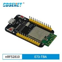 E73 TBA Placa de prueba nRF52810 Bluetooth 5,0 módulo 2,4 GHz, módulo receptor transmisor