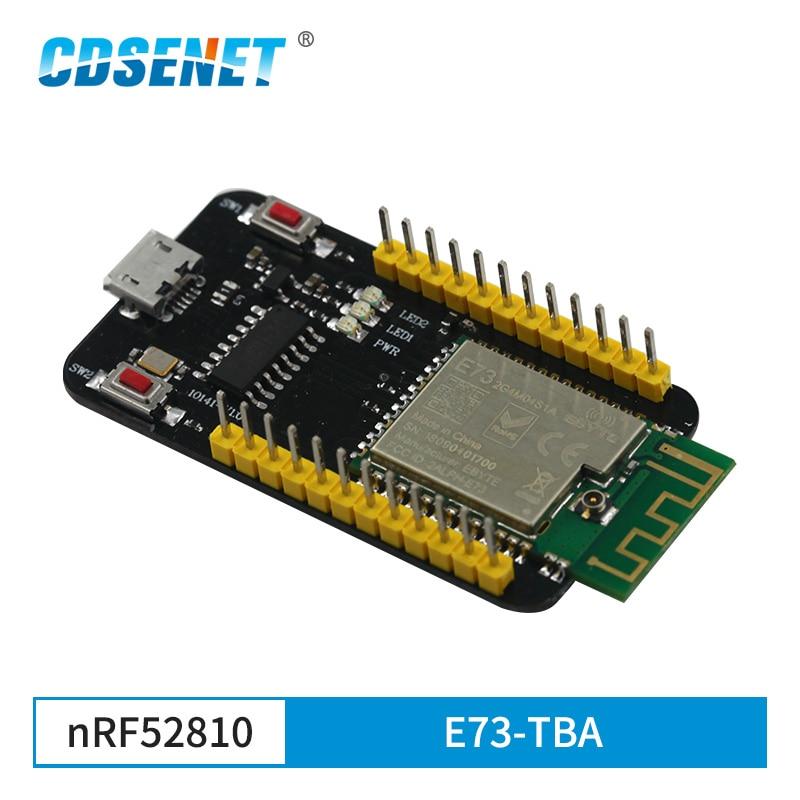 E73-TBA Test Board  NRF52810 Bluetooth 5.0 Module 2.4GHz Transmitter Receiver Module
