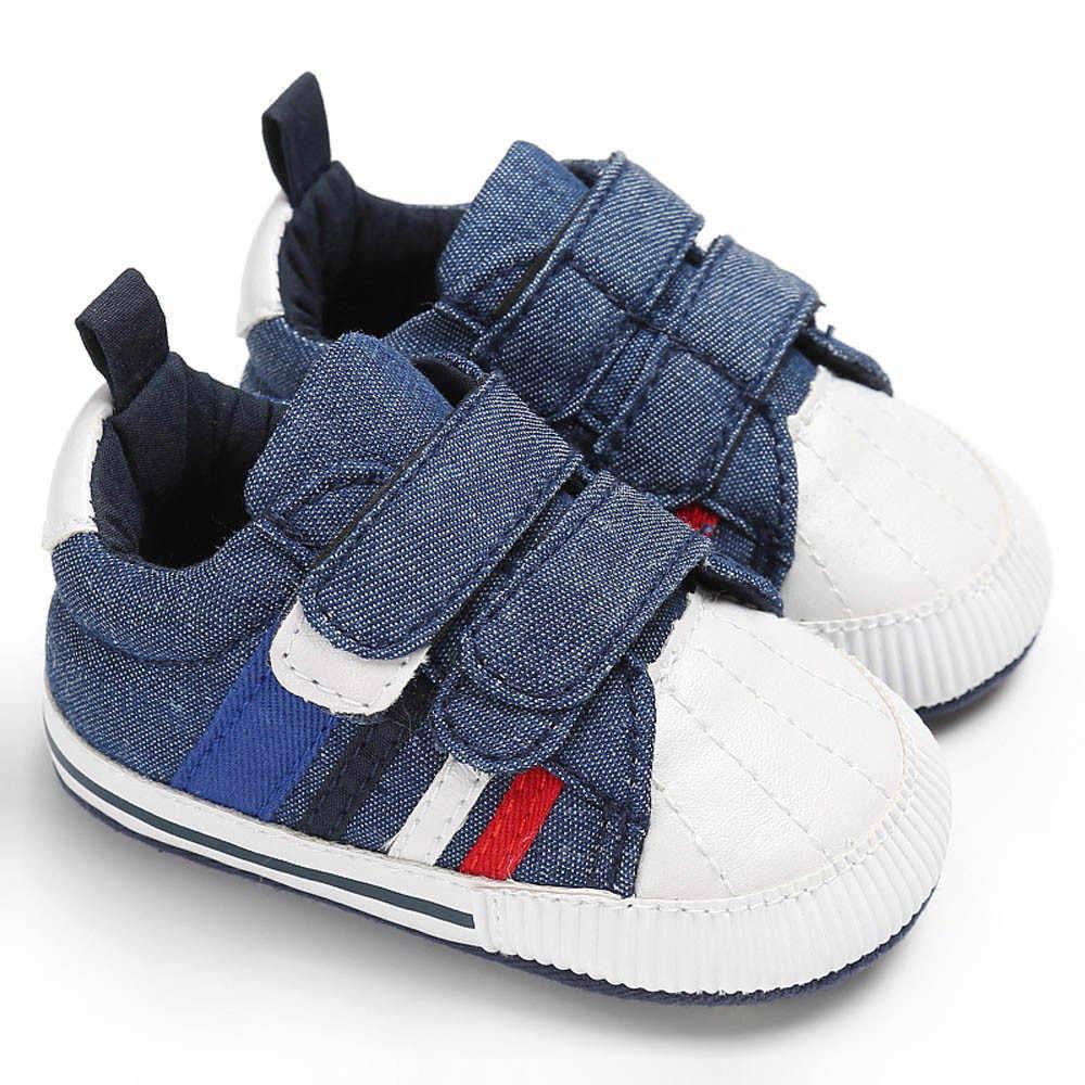 Quente bonito do bebê da menina menino botas esporte ao ar livre sapatos recém-nascidos infantis do bebê meninas meninos berço sapatos sola macia anti-deslizamento tênis de lona