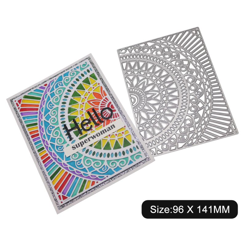 Tellurion Metal Cutting Dies Stencil Scrapbook Embossing Handmade Paper Card