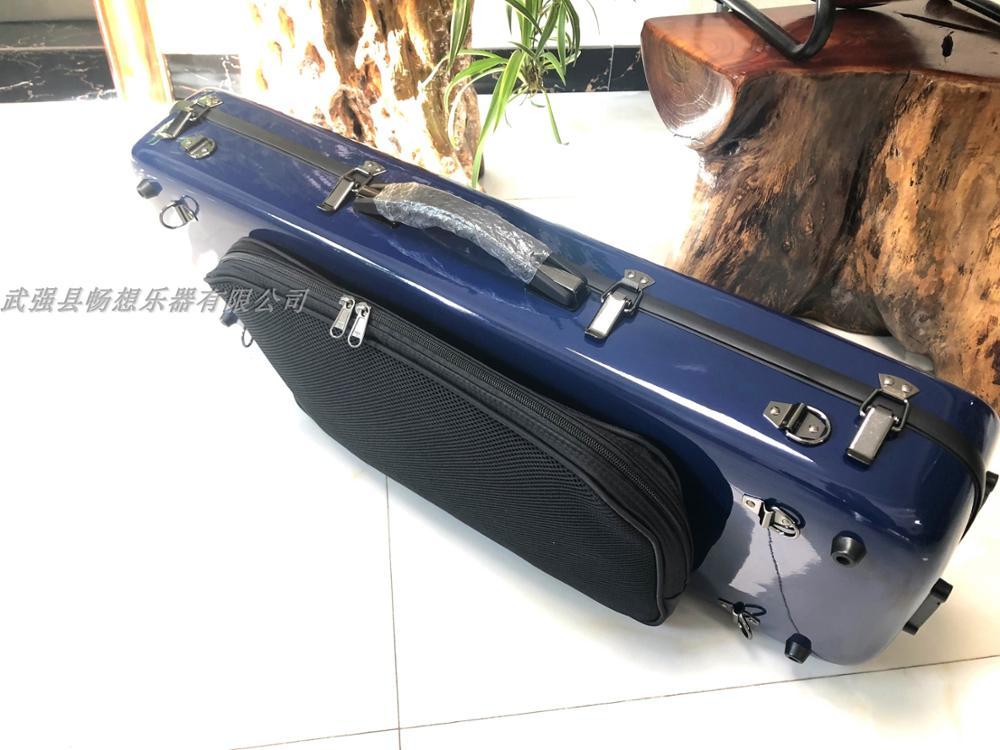 Strong Hard Glass Fiber Adjustable Viola Case 15