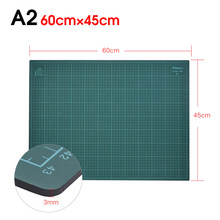 Tapete multifuncional para cortadora de papel, estera de corte automática de cuchilla de gran tamaño, tipo A2, material de PVC, tabla para realizar manualidades