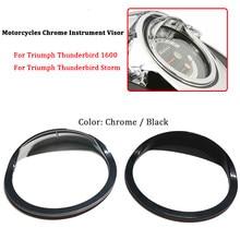 Chapeau pour Instrument de moto, protection contre le soleil, compatible avec Triumph Thunderbird 160 / Thunderbird Storm