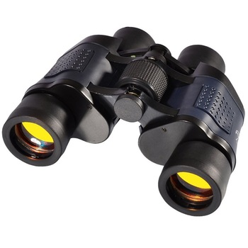 60X60 Powerful Binoculars Hd 10000M Day-Night Vision Telescope High Power Optical Fixed Zoom for Hiking Travel Tourism