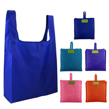 Pouch Tote-Bag Grocery Reusable Folding Eco Large Women Simple Pocket Oxford Case