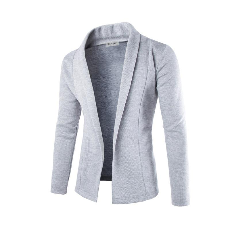 Zogaa camisola masculina blazer outono inverno veludo