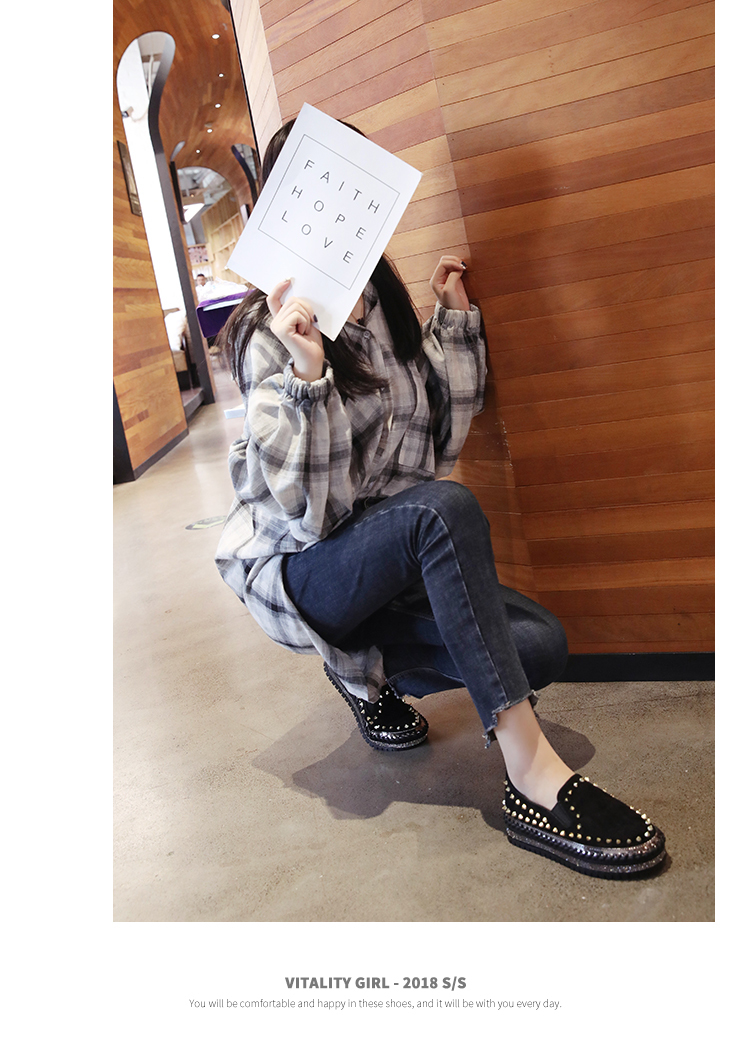 2019 Winter New Women Fur Loafers Comfortable Casual Platform Sneakers 64
