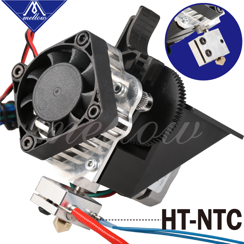 Free Shipping 3D Printer Parts Titan Aero V6 Hotend Extruder Full Kit /Volcano Nozzle Kit For Desktop Reprap Mk8  I3 TEVO ANET