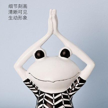 Фото скандинавский йога лягушка домашний декор простой современный