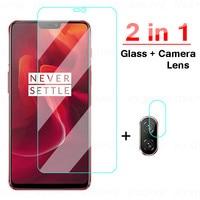 2in1 Abdeckung Screen Protector Glas Für OnePlus 6 6T Nord Gehärtetem Glas Kamera Objektiv Für OnePlus Nord N100 N10 schutz Glas