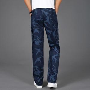 Image 4 - 2020 New Joggers Men Hot Sale Casual Camouflage Pants Homme Summer 100% Cotton Elastic Comfortable Trousers Men Plus Size 5XL