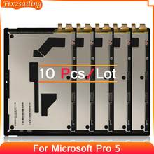 10 Pcs For Microsoft Surface Pro 5 LCD Display Touch Screen Digitizer Replacement For Microsoft Pro 5 1796 LP123WQ1(SP)(A2)
