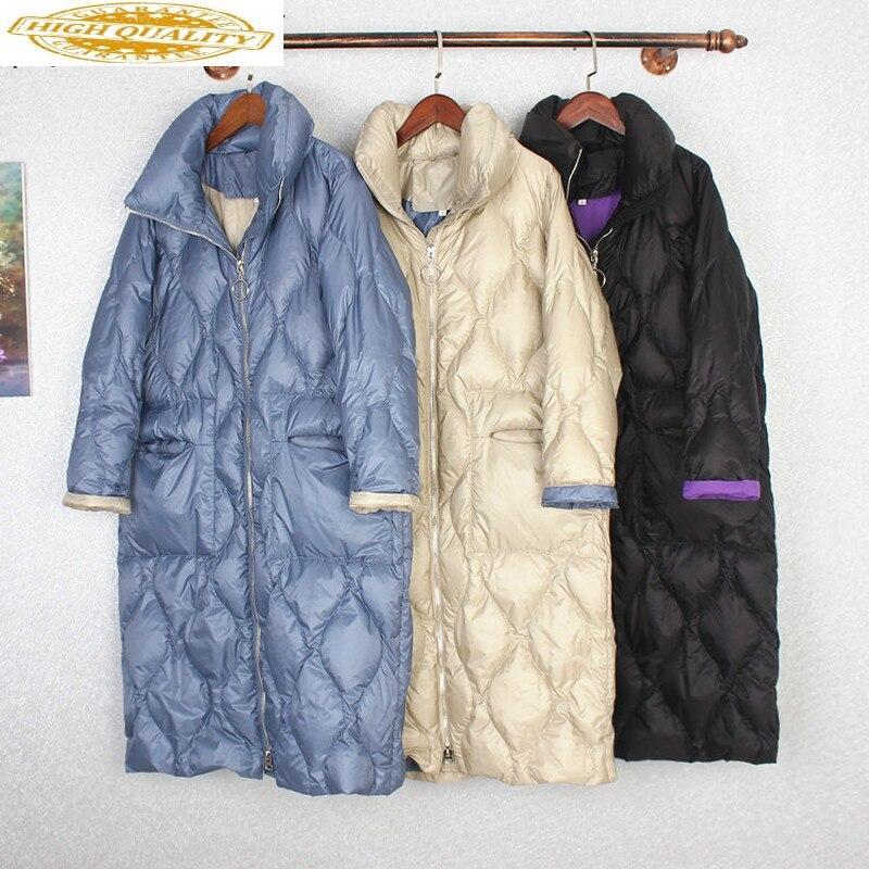 Women Jacket White Duck Down Coat Winter Coat Women Parkas Down Jacket Korean Puffer Jacket Casacos 190627 YY1384