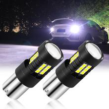 BA15S 1156 P21W samochodu światła cofania światła hamowania żarówka LED dla mazda 2 3 5 6 cx5 cx7 mx5 dla suzuki sx4 jimny swift dla saab 93 95 tanie tanio CN (pochodzenie) Świateł cofania 1200LM BA15S (1156) 12 V 24 V WHITE about 15g 1pcs Uniwersalny P21W led bulb LED Turn Signal Brake Light Reverse Light