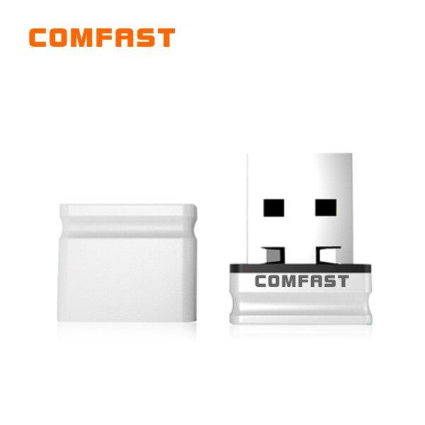 News Comfast Wifi Dongle CF-WU810N Usb Wireless Adapter RTL 8188EUS Chipset 802.11 N/g/b Adaptador Wifi Usb Mini 150Mbps