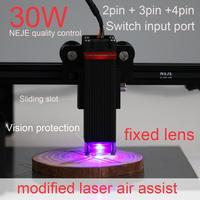 NEJE 30W laser module cutting module kit fixed focal length sliding focus for Laser Engraving Machine Cutting Tool