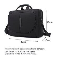 새로운 브랜드 노트북 가방 15 15.6 인치 노트북 숄더 가방 핸드백 맥북 프로 15.4 인치 비즈니스 가방 남자에 대한